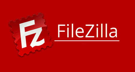 Web hosting with the help of filezilla